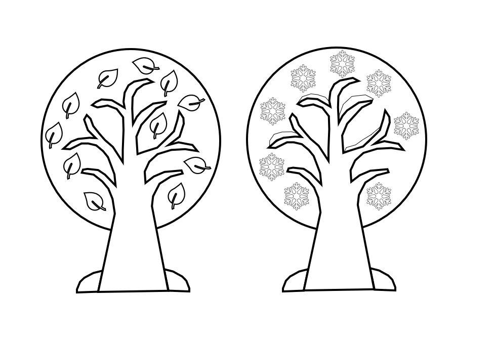 Ausmalbilder Jahreszeiten Die Vier Jahreszeiten 10